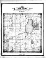 Lake Mills Township, Jefferson County 1887